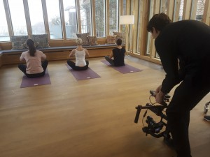 Making of Imagefilm Wellness Spessart Tourismus