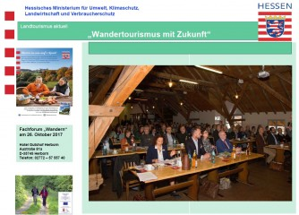 Wanderforum am 26.10.2017 in Herborn