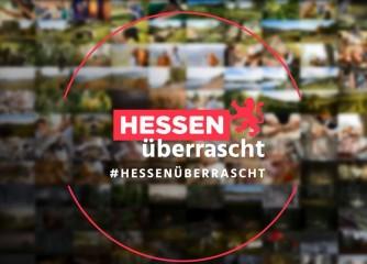 Social Media Kampagne #HessenÜberrascht