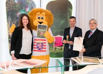 """Spessart Tourismus und Gruppe Drei gewinnen Medienpreis """"Second Star"""" beim """"Das Goldene Stadttor"""" auf der ITB"""
