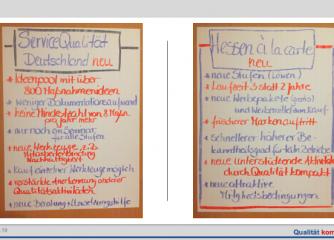 Neues von den Qualitätssystemen: Hessen à la Carte und ServiceQualität Deutschland