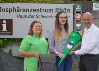 Neue Auszubildende bei der Rhön GmbH