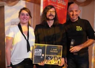 Video gedreht – ein Jahr Freibier gewonnen