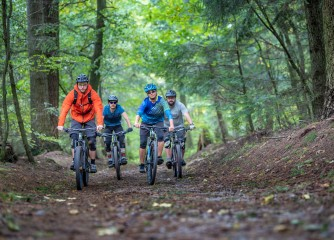 Neue Karte für Mountainbiker im Odenwald und an der Bergstraße